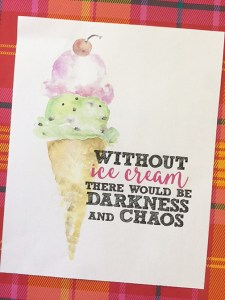 Happy National Ice Cream Day | Freebies!