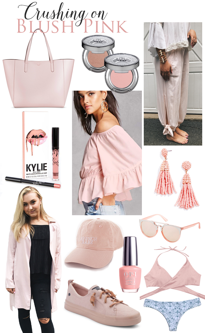 Blush Pink fashion color trend