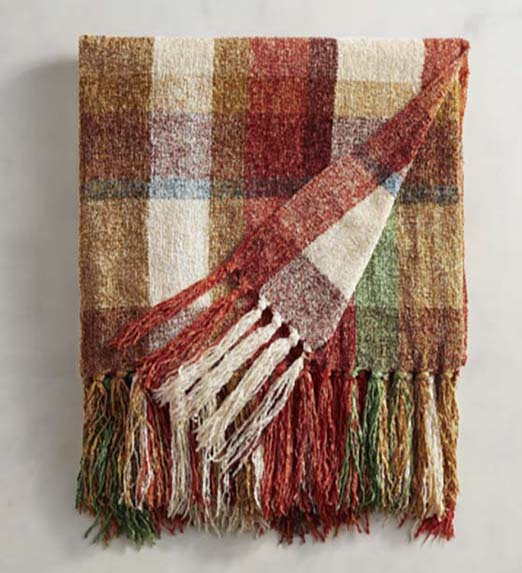 one of my favorite cozy throw blankets for fall from Pier 1 Imports