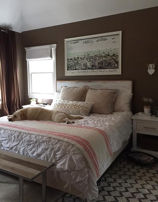 One Room Challenge Week 4 Bedroom