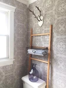 Small Space Bathroom Redesign – One Room Challenge™ WEEK 4