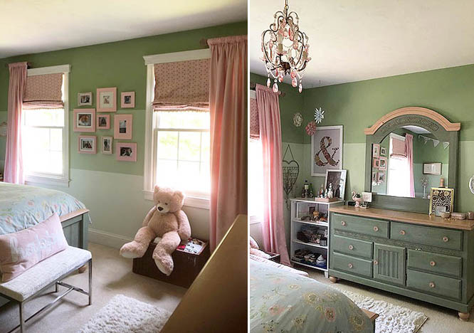 a teenage girls bedroom makeover