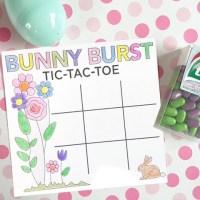 FREE Easter tic-tac-toe printable game
