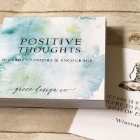NEW PRODUCT ALERT: inspirational card sets