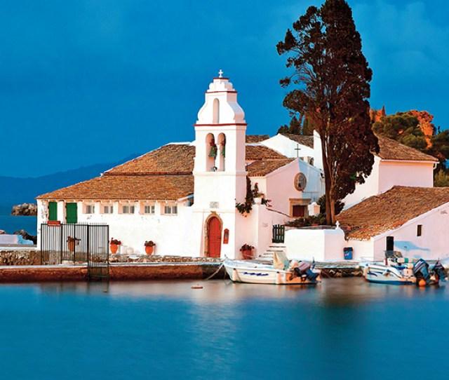 Corfu Greece Places Of Interest