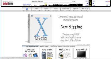 Apple nel 2001