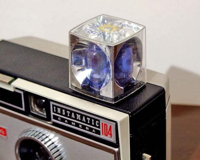 Flashcube on Kodak Instamatic | GrecTech