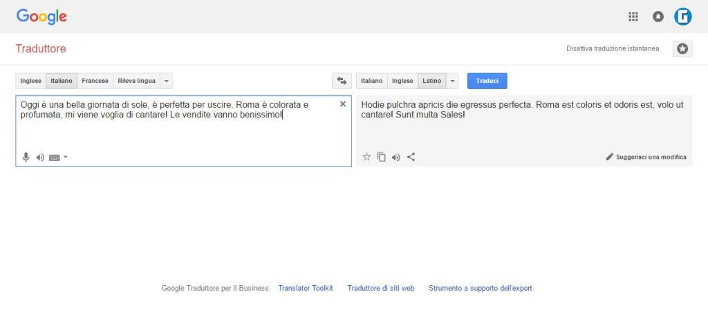 GoogleLatin