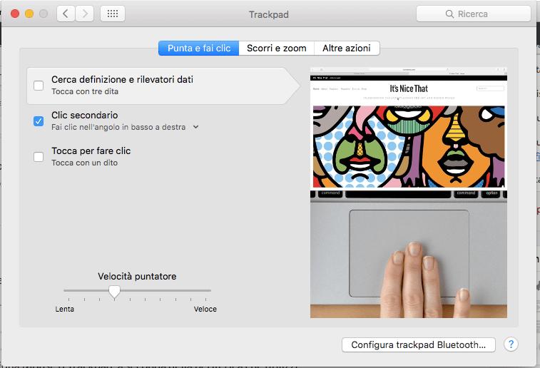 Fare clic con il tasto destro sul Mac - Supporto Apple