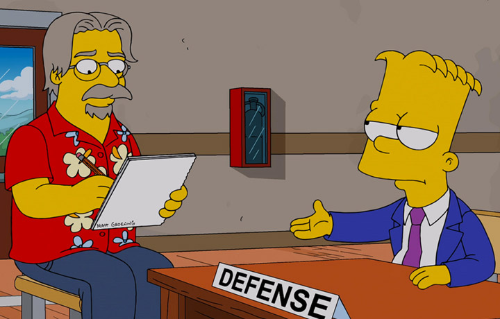 simpsons creator matt groening sued domestic lawsuit | GrecTech