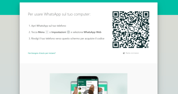 Disconnettersi da WhatsApp Web