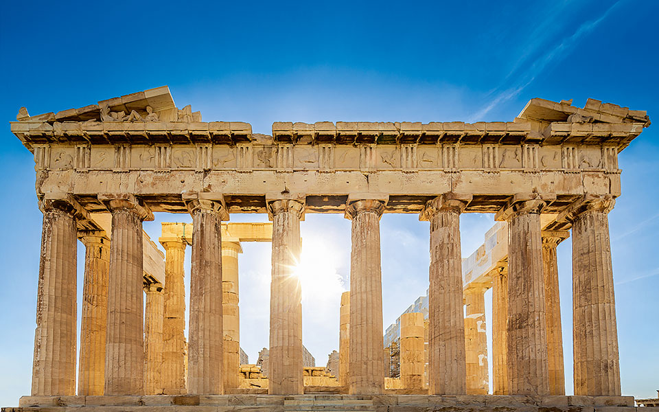 The Optical Illusions That Make The Parthenon Perfect Greece Is