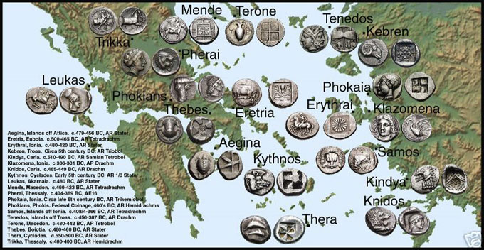 ancient coins - rare coins