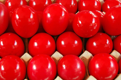 Greek recipes  Red Easter Eggs