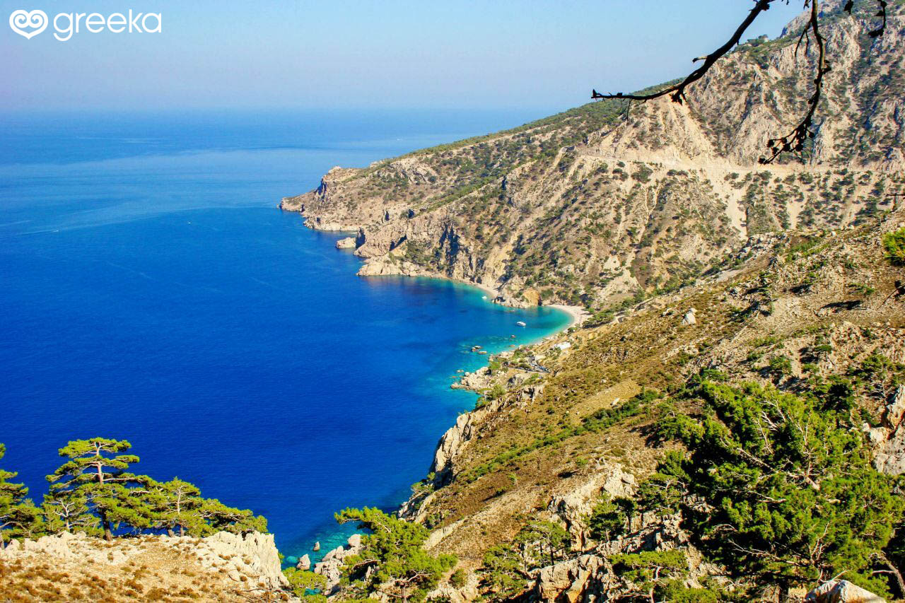 geography of greece and