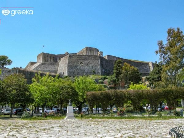 History of Corfu island Greekacom