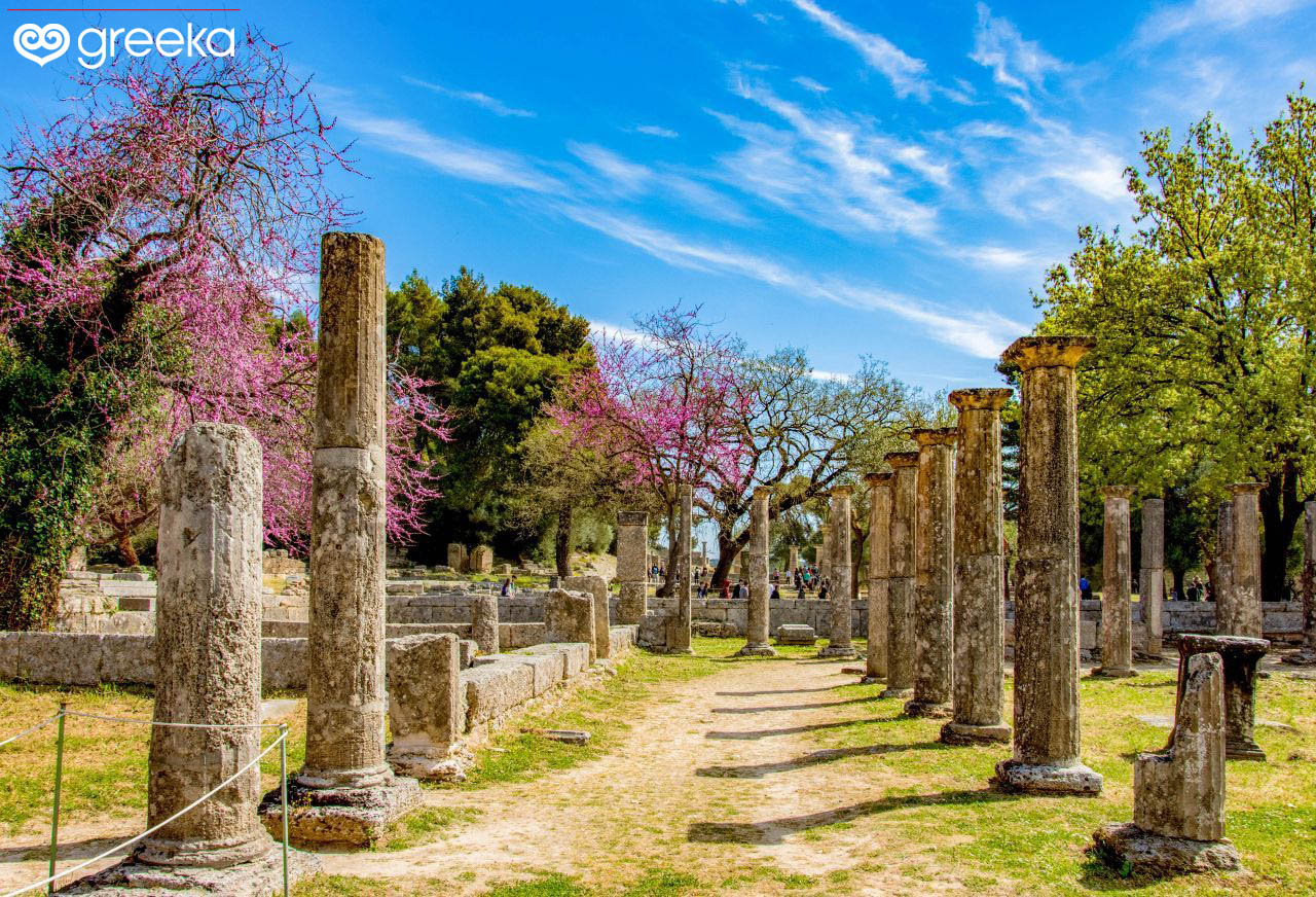 Architecture Of Olympia Greece