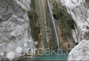 Waterfalls of Nydri in Lefkada island Greekacom