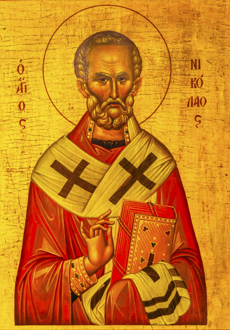 The Story Of The Greek Orthodox Saint Nicholas