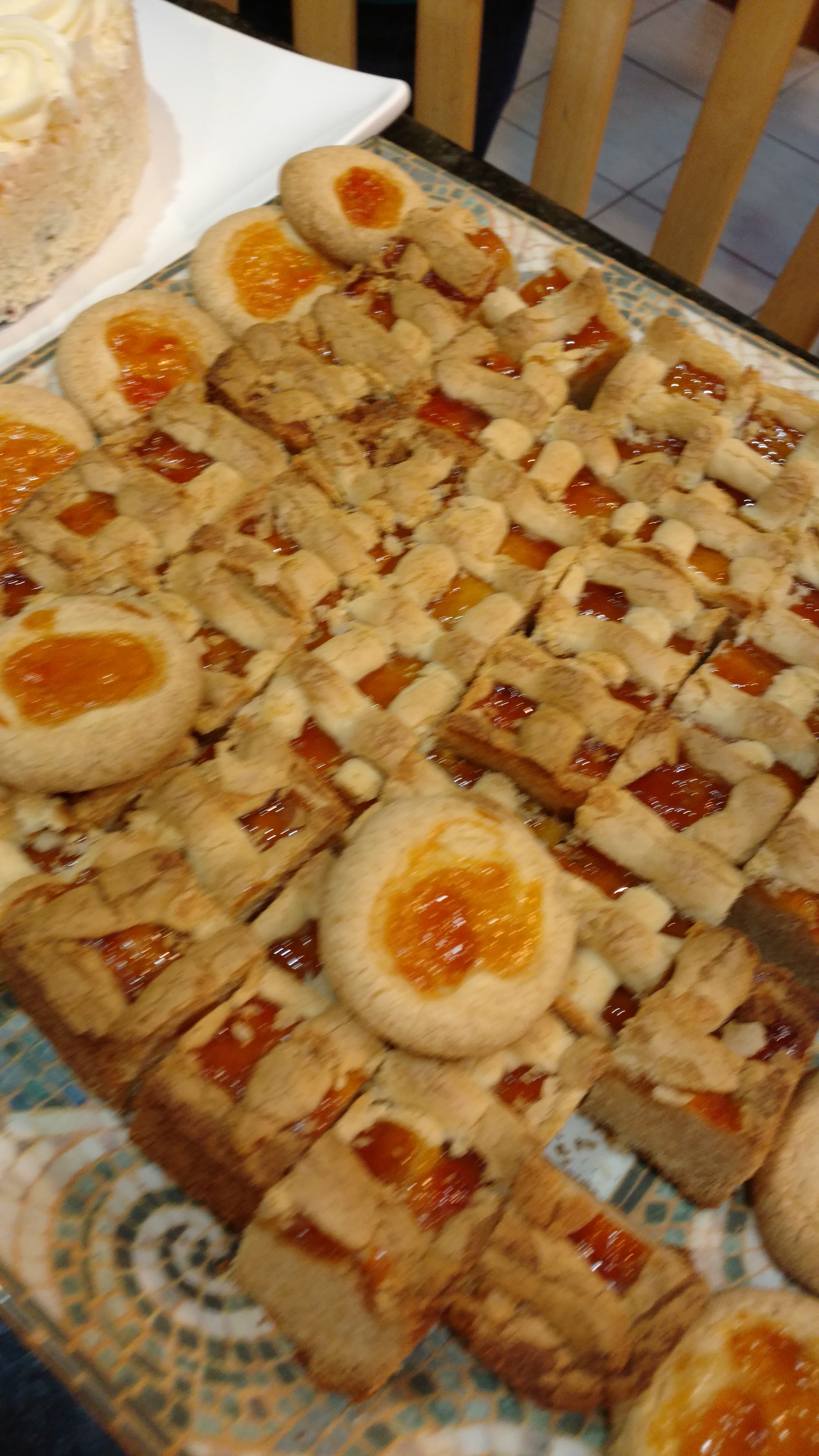 Pasta Flora  Greek Jam Tart Recipe