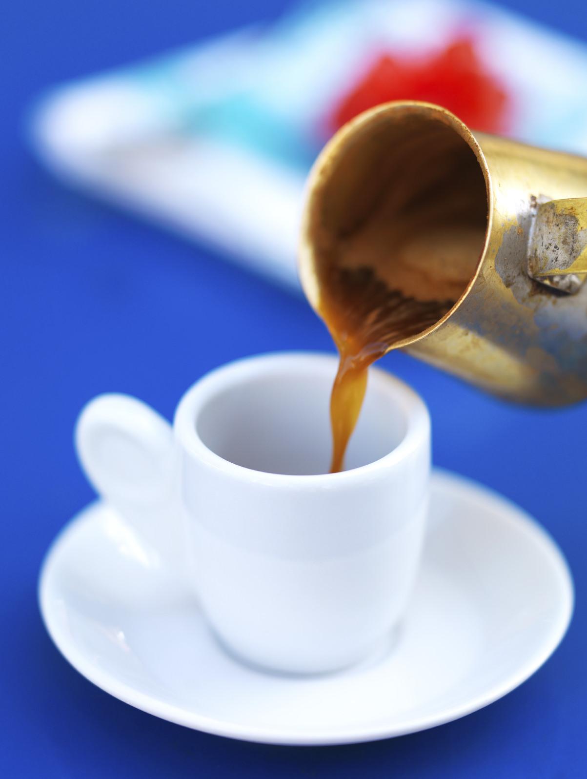 Ellinikos Kafes  Greek Coffee Recipe