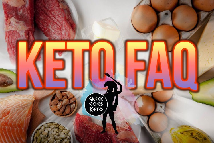 Keto FAQ - Frequently Asked Questions 1