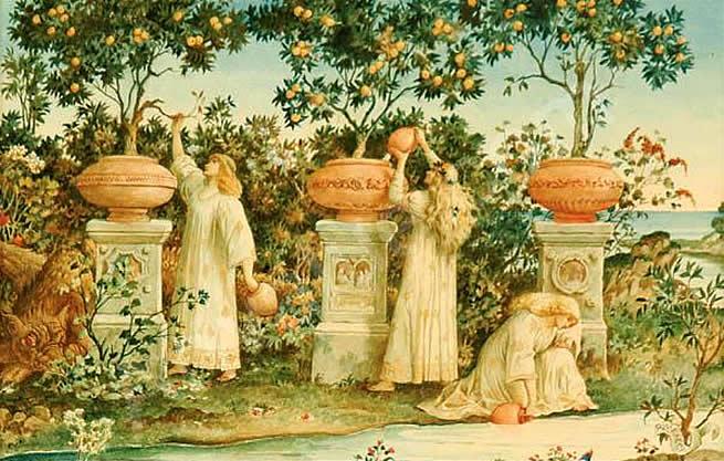 Image result for garden of hesperides