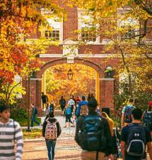 Beautiful Campuses In Fall - Greekrank