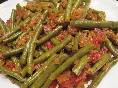 Fasolakia Yiahni (Green Beans in Tomato Sauce)
