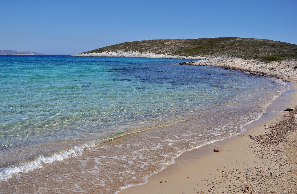 Παραλία Σώστης, Αντίπαρος