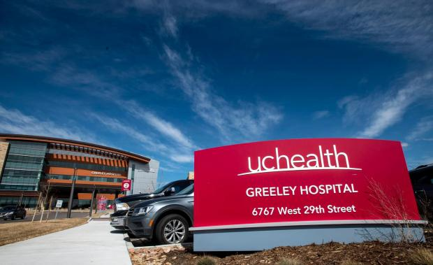 UCHealth Greeley Hospital at 6767 29th St. (Greeley Tribune file photo)