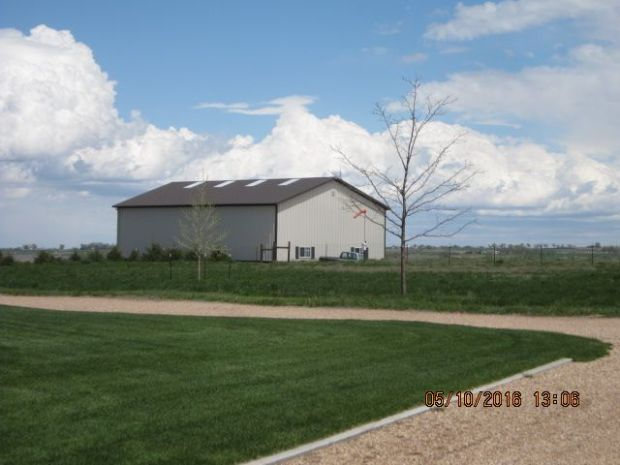One of the buildings at 21244 Weld County Road 46 1/2, LaSalle.