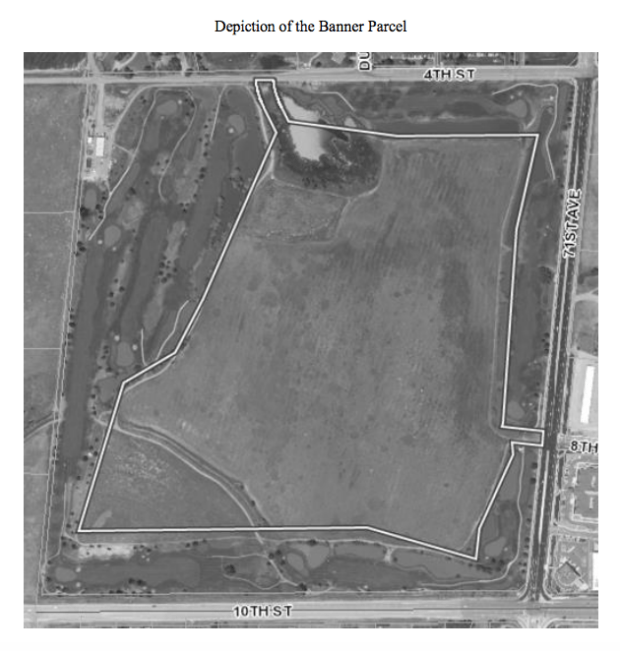 District 6 parcel at Boomerang Golf Course