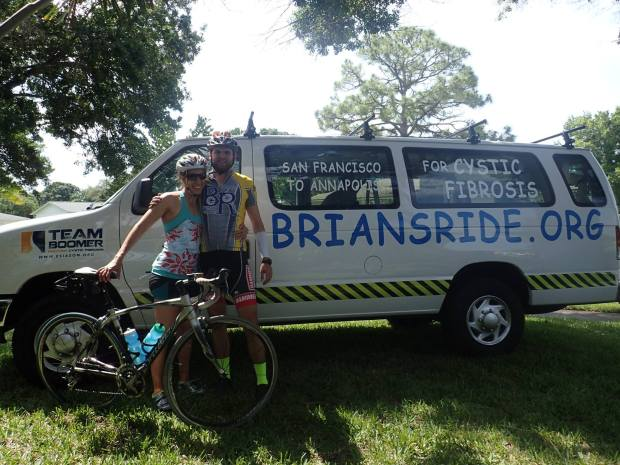 Emily DiMatteo and Brian McCandless