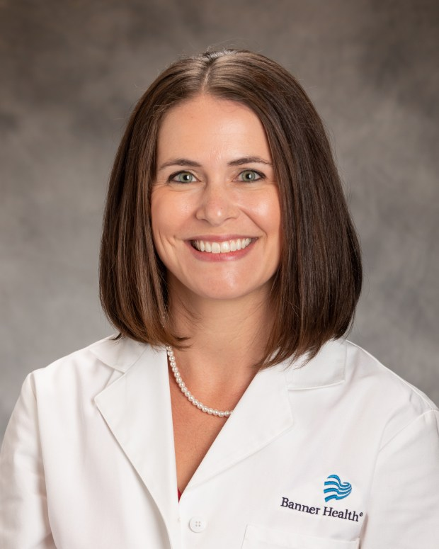 Dr. Kelsey Shay (Courtesy/Erik Stenbakken, North Colorado Medical Center)