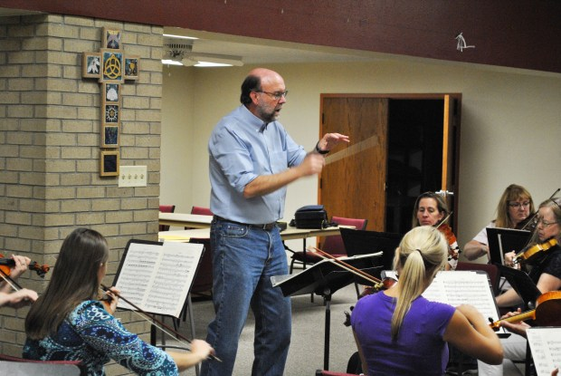 Daniel Frantz founded the Greeley Chamber Orchestra in 1981. Frantz is also the conductor of the group.