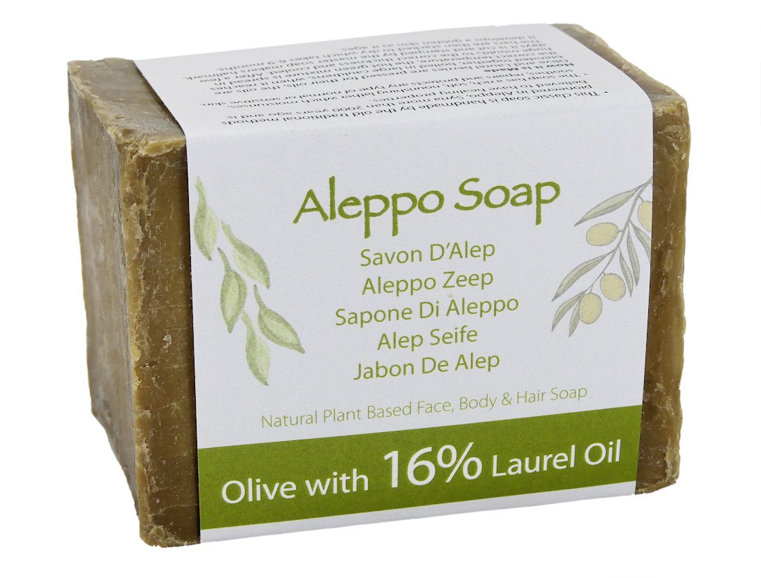superior traditional aleppo soap