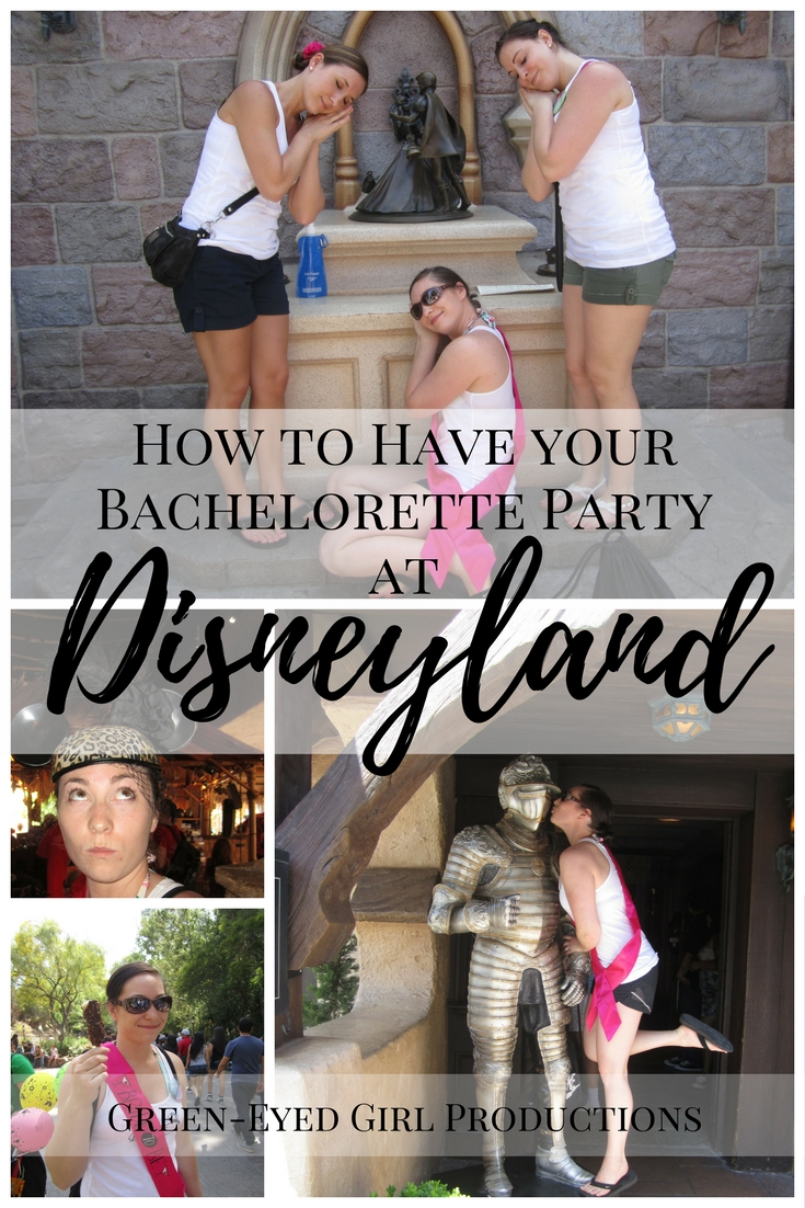How to have your Bachelorette Party at Disneyland | Scavenger Hunt