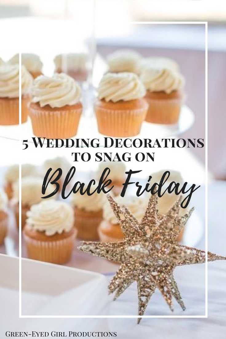 5 Wedding Decorations to Snag on Black Friday