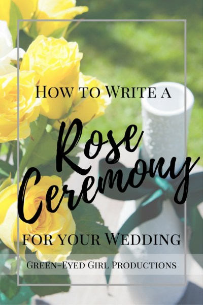 How to Write a Rose Ceremony for your Wedding | Unity Celebration ...