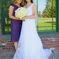 How to Honor Mom on your Wedding Day: Ribbon Bouquet - A Mother's Day Tribute....
