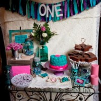 A First Birthday Party with a Vintage Twist....
