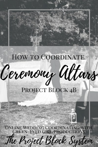 How to Coordinate Ceremony Altars, Wedding Planning Guide. Wedding Planning how To How to write a wedding ceremony
