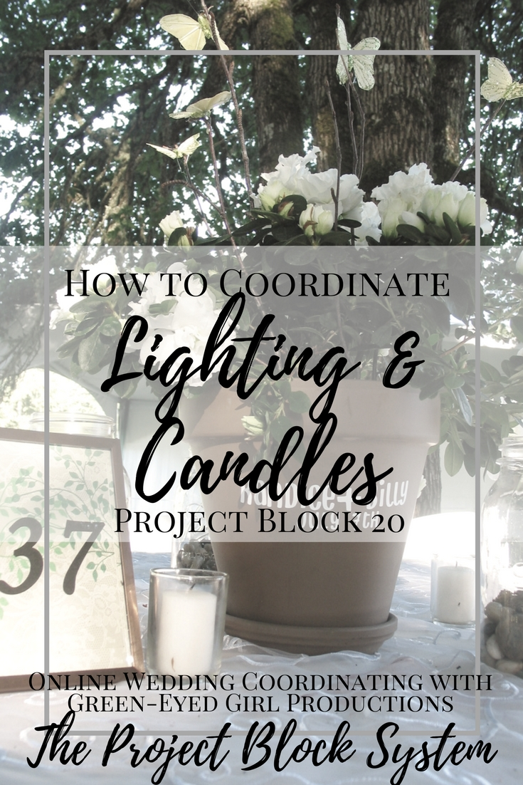 How to Coordinate Wedding Lighting | Project Block 20