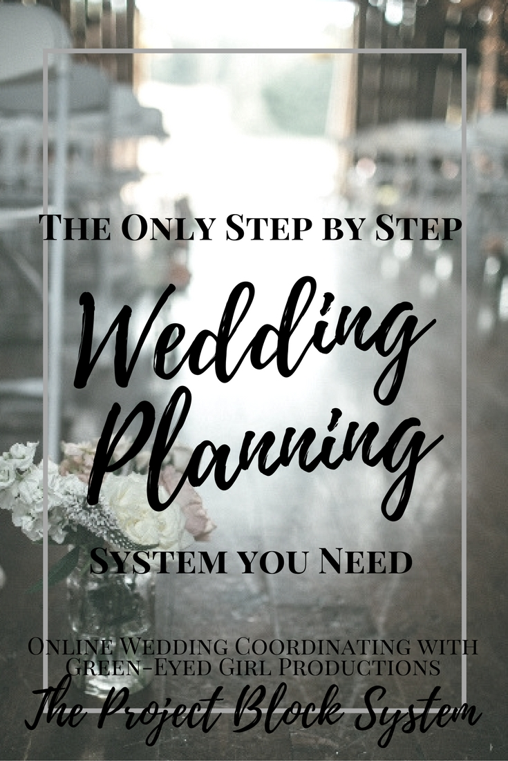 Wedding Planning with The Project Block System