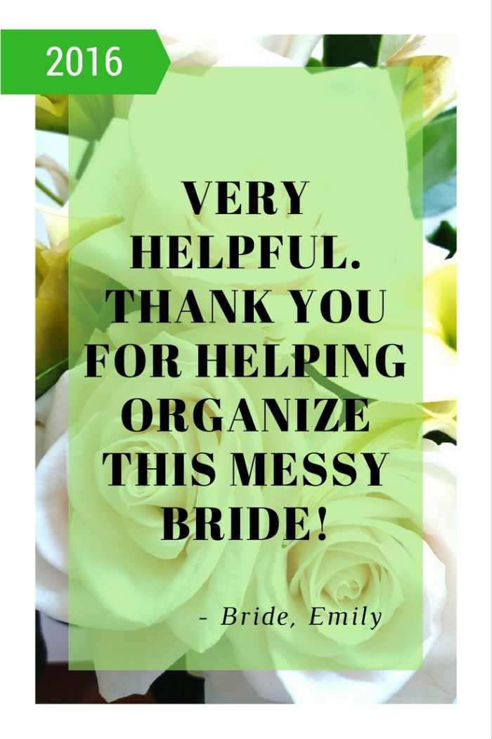 What Brides are saying about The Project Block System ECourse Training and Workbook. Wedding Planning Done Right