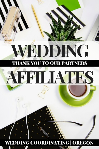 Affiliate Programs for Wedding Planners. Affiliates for Wedding Bloggers