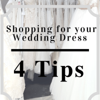 Shopping for your Wedding Dress | 4 Tips