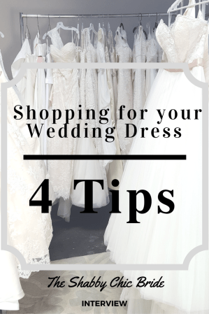 How to shop for your Wedding Dress. Preparing to buy a Wedding Dress. 4 Tips on Wedding Dress Shopping