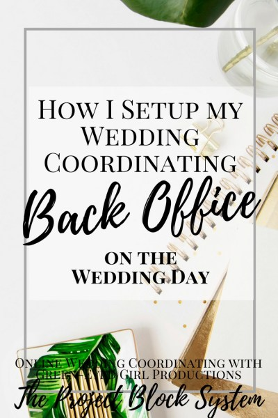 How I Setup my Wedding Coordinating Back Office at a Wedding Venue. How to be a Wedding Planner. Wedding Planner Tips and Tricks. Wedding Planning Tips. How to Plan a wedding.